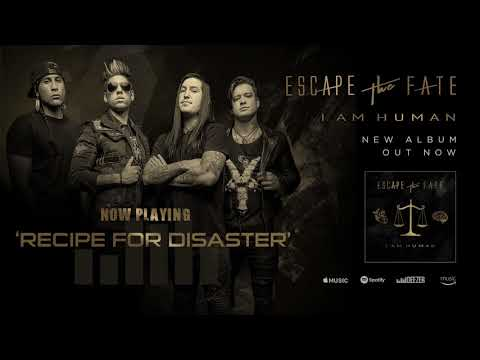 Escape The Fate - Recipe For Disaster feat. Joe Cotela of Ded