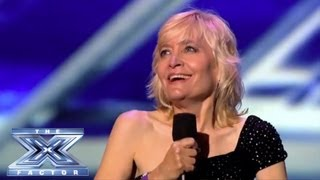 """Sally Hessnice - Performs """"The Greatest Love of All"""" by Whitney Houston - THE X FACTOR USA 2013"""