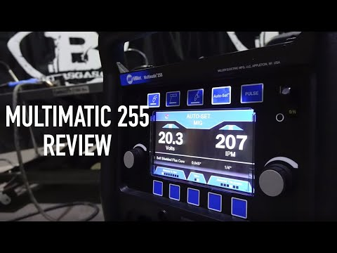 Introducing the New Miller Multimatic 255 Multiprocess