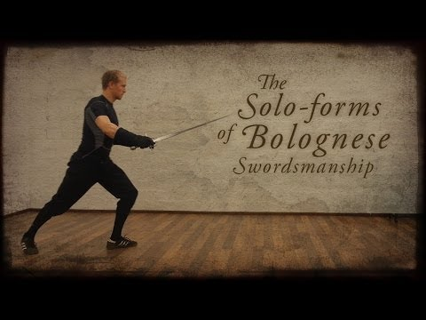 The solo-forms of Bolognese swordsmanship from Giovanni dall