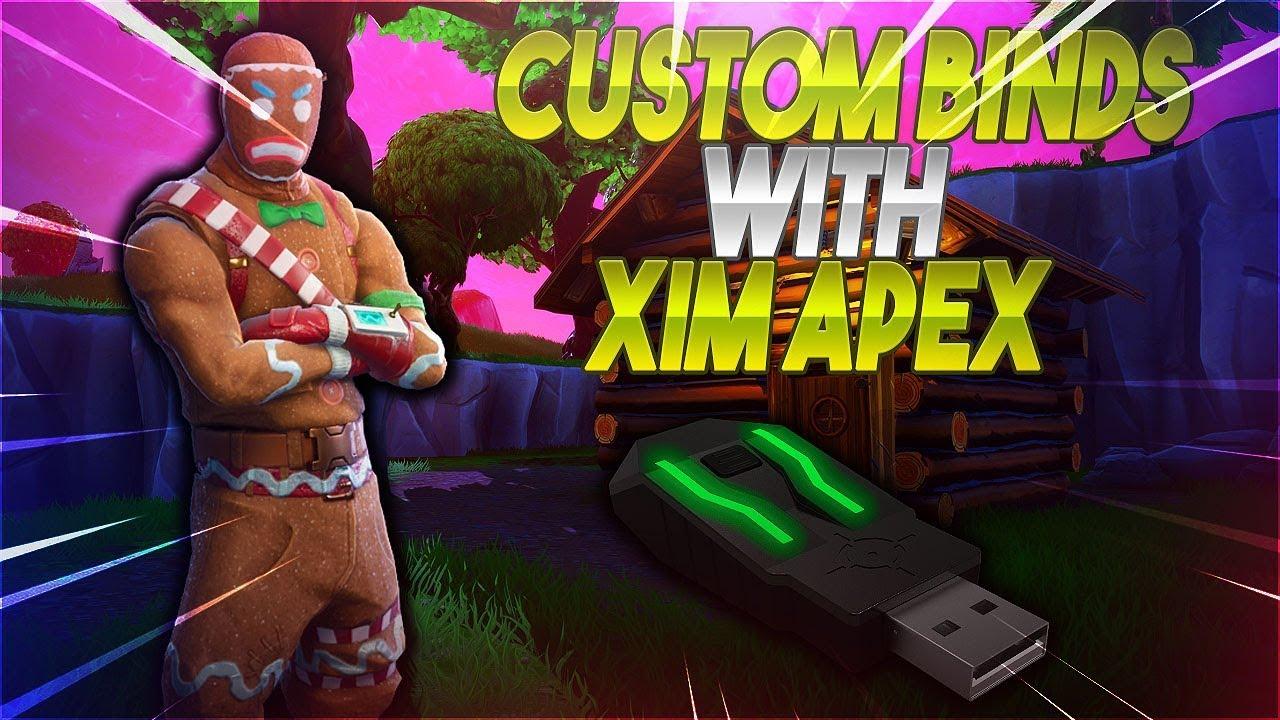 Xim Apex Fortnite Config Tutorial
