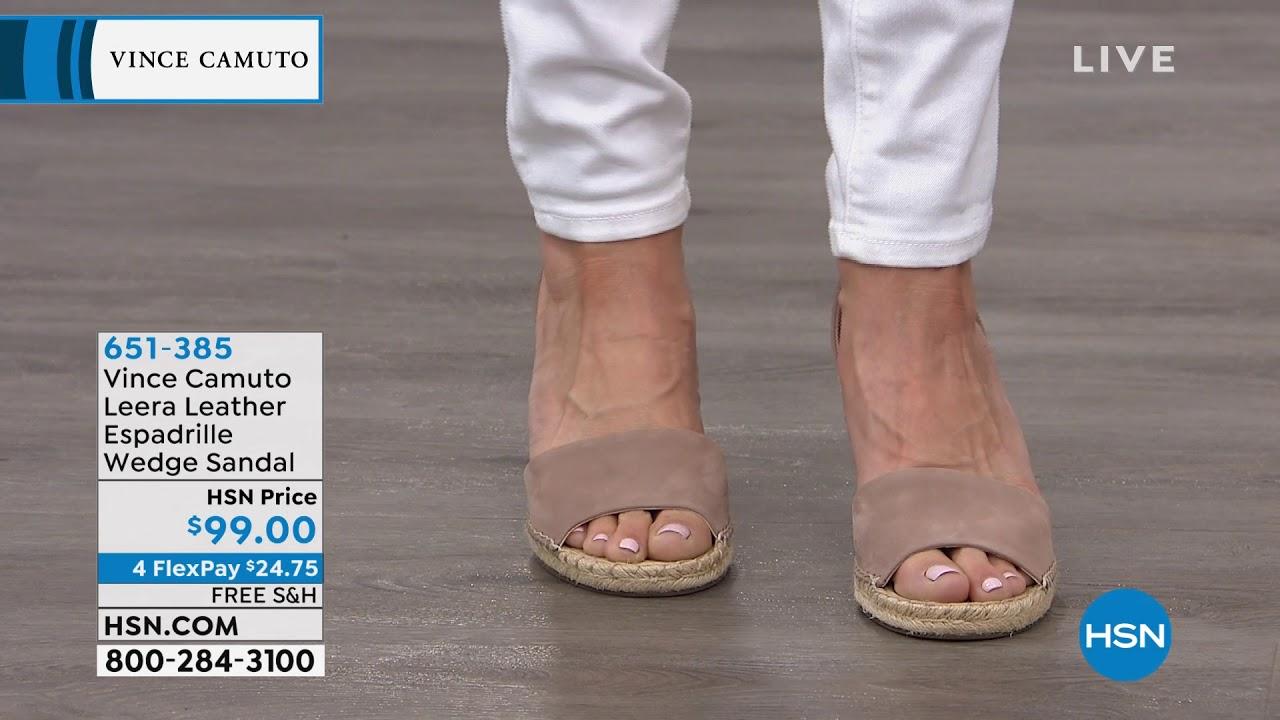 2f3bc74cd9b Vince Camuto Leera Leather Espadrille Wedge Sandal