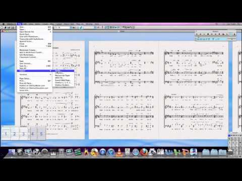 How To: Prepare & Convert A Sibelius File Into An Audio File & MP3