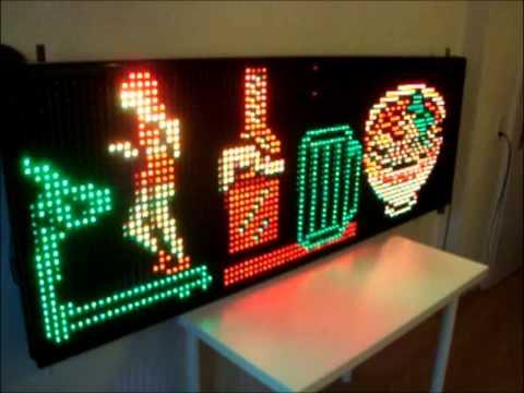 LED-DISPLAY 200cm x 90 cm ZU VERKAUFEN!