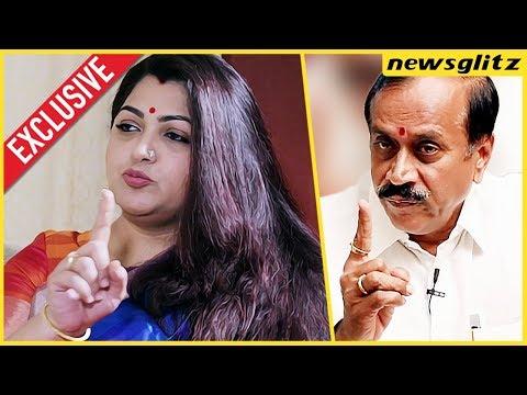 EXCLUSIVE! Kushboo Interview About H Raja, Valarmathi's Award |  Congress