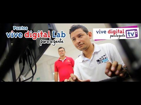 #ViveDigitalLab, Laboratorios de Contenidos Digitales . Cap 5