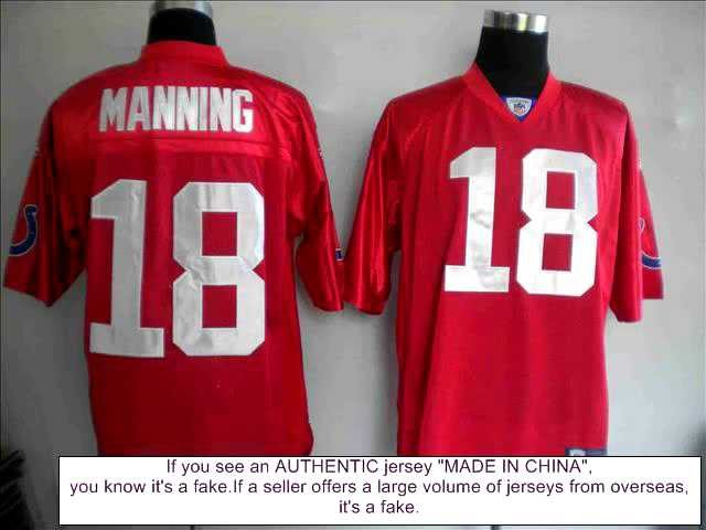 NFL Jersey | How to tell if an NFL Jersey is Fake - YouTube