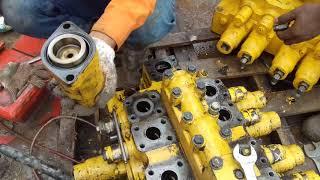 Spool control valve jemmed