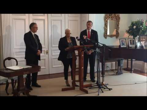 Leah Scott Sworn In As Junior Minister, Feb 23 2017