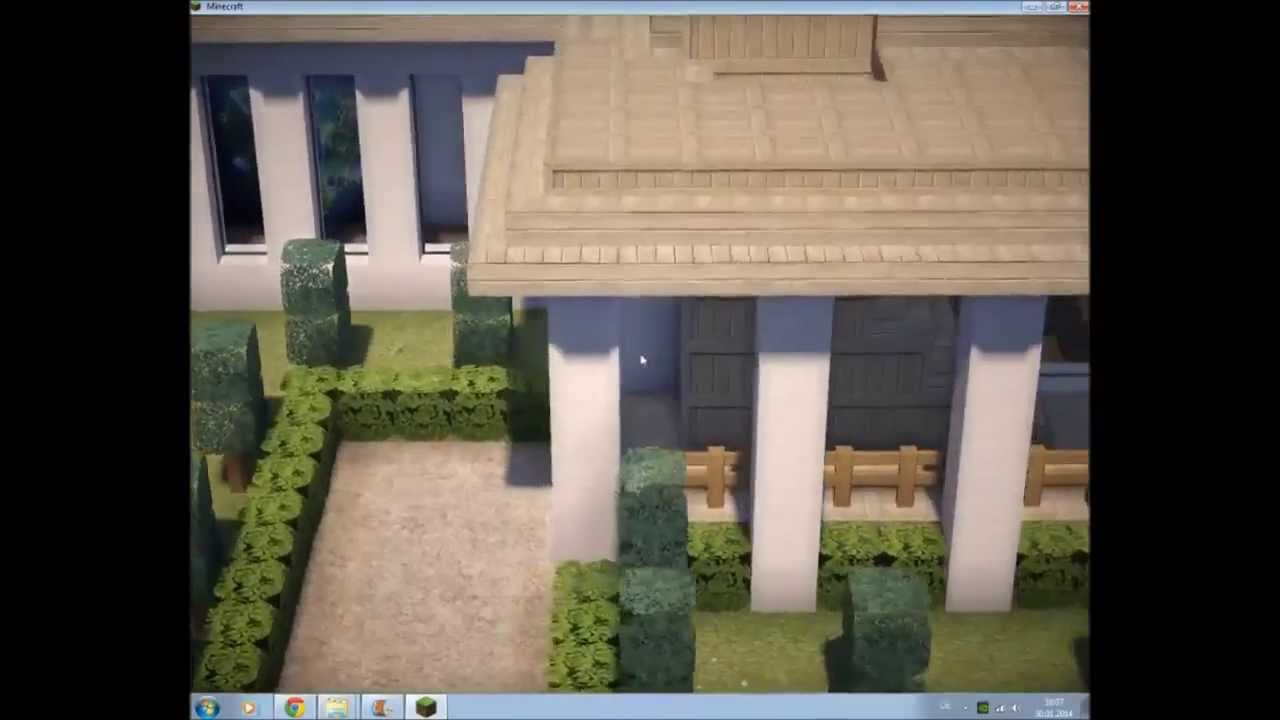 Minecraft wei en haus bauen by tommygun best doovi for Minecraft haus bauen
