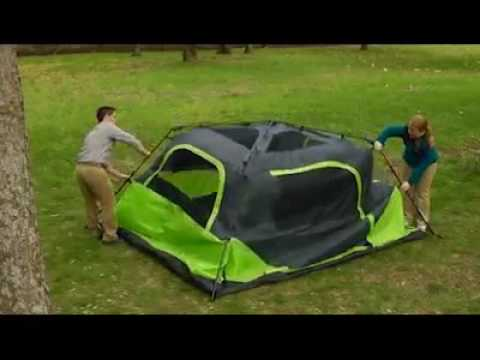 Ozark Trail 6 Person Instant Cabin Tent Barraca Instantanea para 6 pessoas & Ozark Trail 6 Person Instant Cabin Tent Barraca Instantanea para 6 ...