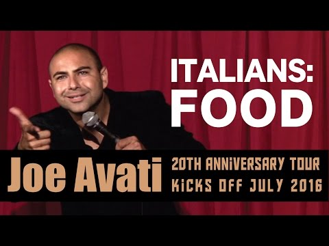 Italians & Food | Joe Avati: LIVE (DVD)