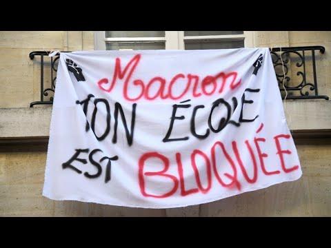 فرانس 24:France: Macron faces spreading anger of students, railworkers as protests continue