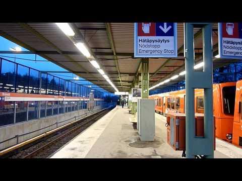 Kulosaari Metro Station / Helsinki, Finland