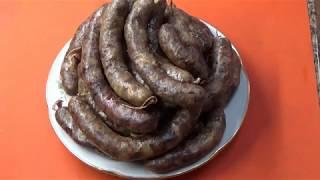 Домашняя колбаса  Рецепт проверенный временем