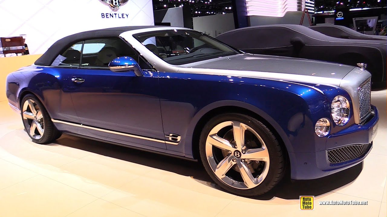 2015 Bentley Grand Convertible Exterior And Interior