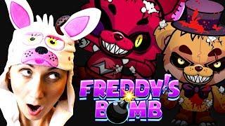 Игровой мультик ФНАФ Приколы Пять Ночей Freddy s Bomb Убегаем от Аниматроников на канале Мы Играем