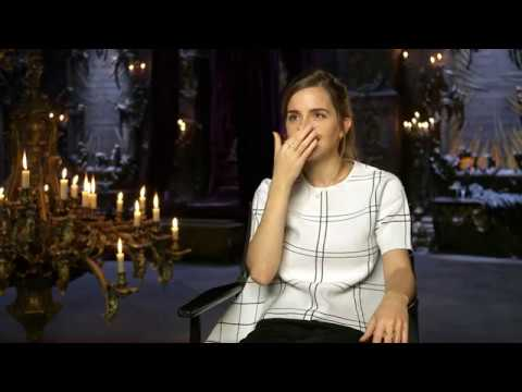 Beauty and the Beast - Emma Watson Interview #1