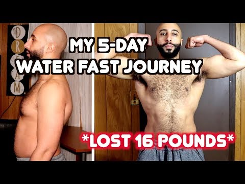 My 5-Day Water fasting results (Lost 16lbs) | A Day In My Life Review + MUST Know Tips