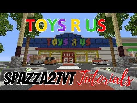 Minecraft Toys R Us Tutorial