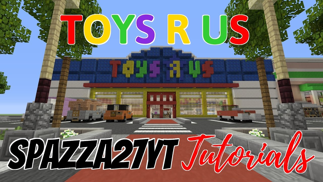 Minecraft toys r us tutorial youtube - Maisonnette toys r us ...