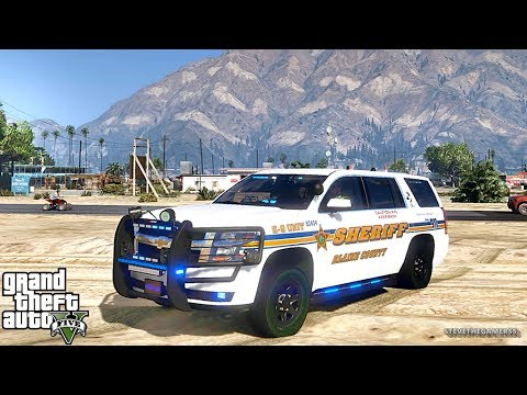 GTA 5 MODS LSPDFR 800 - SHERIFF K9 PATROL!!! (GTA 5 REAL LIFE PC MOD)