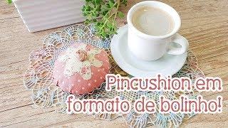 Pincushion criativo em formato de bolinho