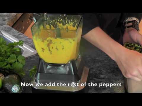 Peruvian Yellow Pepper - Aji Amarillo Paste Recipe English Subtitles