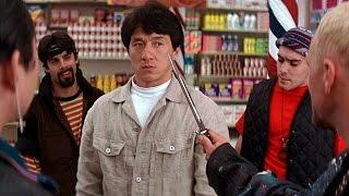 Джеки Чан -- драка в Магазине и Кафе