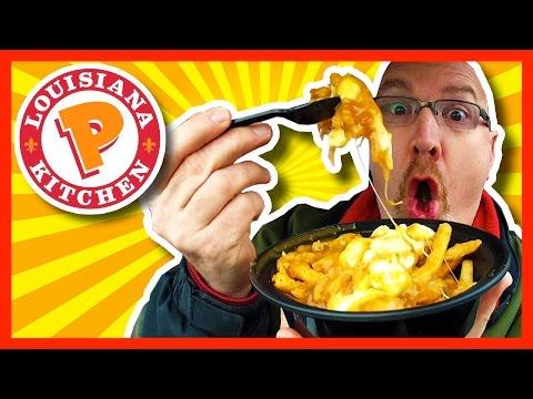 Popeyes Louisiana Kitchen Cajun Poutine Review | KBDProductionsTV