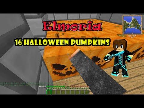 WarMine - RPG Elmoria. Открываем 16 Хеллоуинских тыкв на 400 железных блоков!