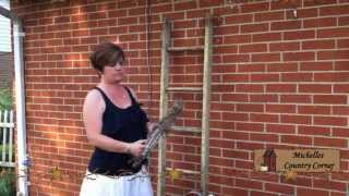 Outdoor Ladder - Country Decorating Ideas 2012