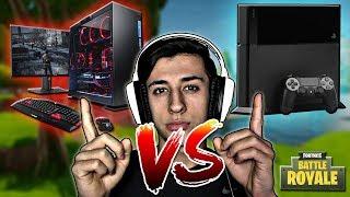 Chigua : Fortnite, ¿En cual es Mejor? Consola Vs. PC