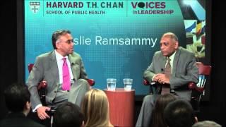 Leadership in Fighting HIV/AIDS in Guyana | Voices in Leadership | Leslie Ramsammy