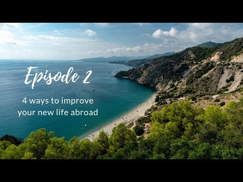 Improve your life abroad in 4 steps