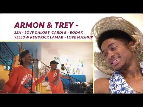 SZA - Love Galore - Cardi B - Bodak Yellow | Kendrick Lamar - LOVE | Armon And Trey MASHUP A. 246