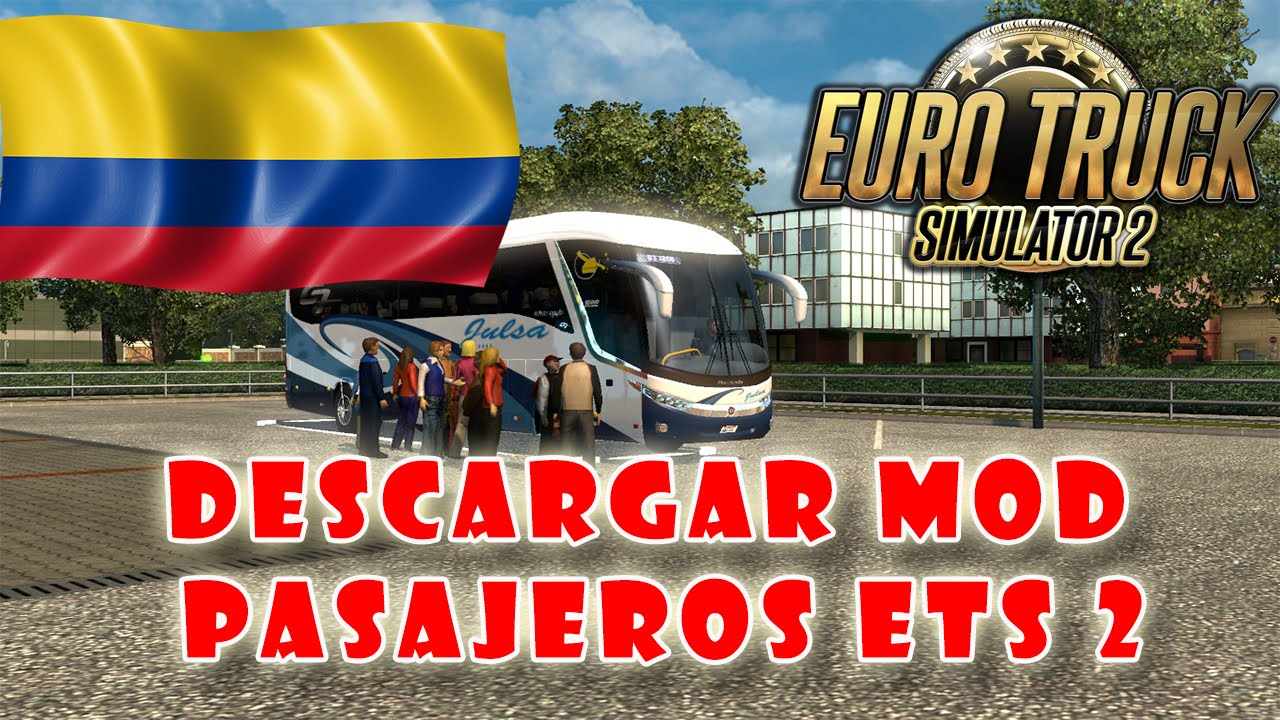 Euro truck simulator 2 mod de pasajeros v 12204 mod colombia euro truck simulator 2 mod de pasajeros v 12204 mod colombia youtube gumiabroncs Image collections