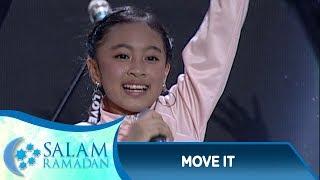 Dance yg Bikin Semangat! Zara Leola [MOVE IT]  - Salam Ramadan (3/6)