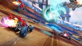 CGRundertow SUPERSONIC ACROBATIC ROCKET-POWERED BATTLE-CARS for PlayStation 3 Video Game Review