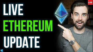 🔴LIVE: Ethereum Price JUMPS, What's Next?