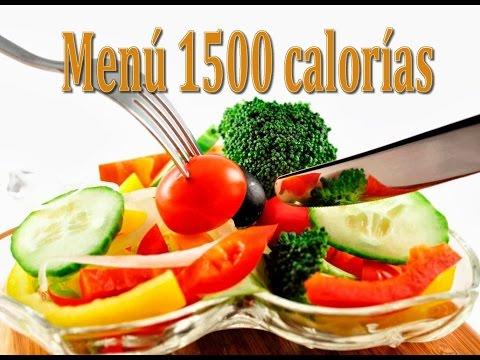 ? Dieta 1500 calorias Videoblog ? Como eliminar las calorias para bajar de peso