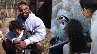 Kim Kardashian MAKES Kanye West SMILE  At The Zoo and Our Hearts Are MELTING!