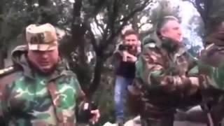 Сирия, Латакия Росийские наземные войска поддежрживают наступление Асада
