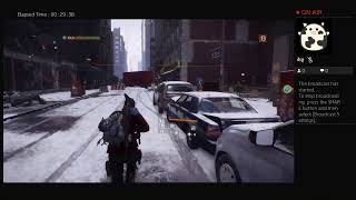 The Division, Part Nineteen, PS4 Live Broadcast, No Commentary, Walkthrough