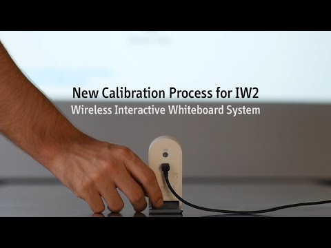 New Calibration Process For IW2 Wireless Interactive Whiteboard System