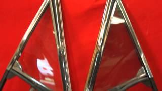 Oldsmobile Cutlass Vent Window Frames