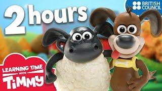 Learning Time with Timmy | Season 1 Compilation | Learning Fun for Children
