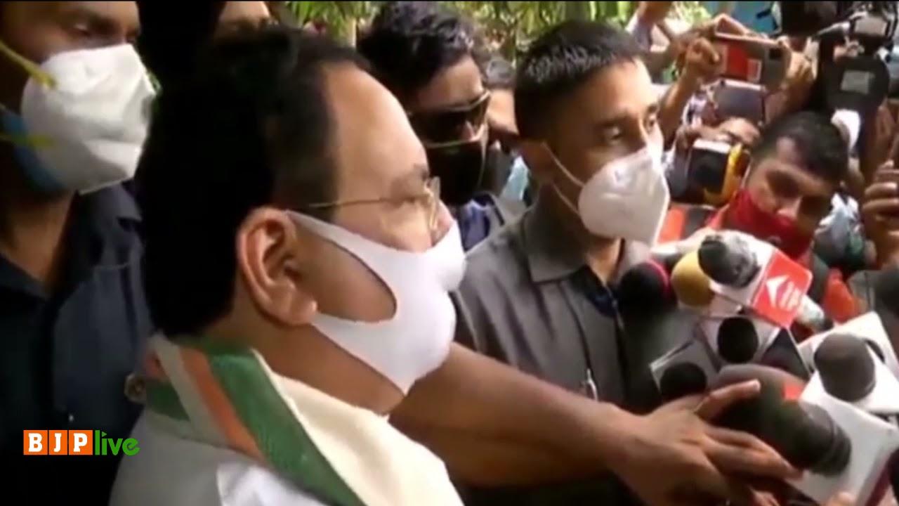 बंगाल में राजनीतिक हिंसा समाप्त हो, इसके लिए भाजपा कृत-संकल्पित है: श्री जे पी नड्डा