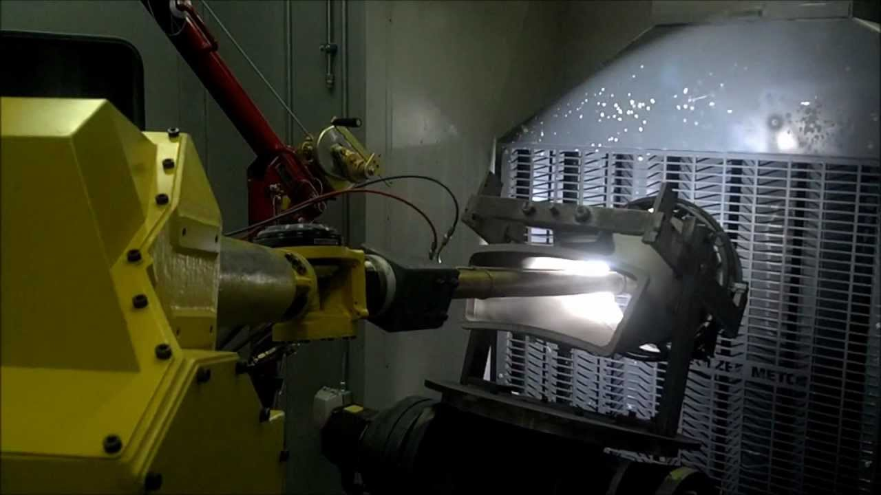 Thermal Spraying on Internal Lining Surfaces