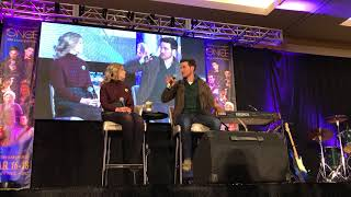 Colin O'Donoghue and Rose Reynolds OUAT Vancouver 2018 Gold Panel Part 2